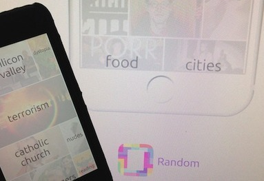 Random for iOS Aims to Shake up the Way You View News | MobileWeb | Scoop.it