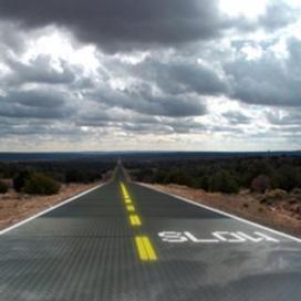 Driving on Glass? Inventor Hopes to Lay Down Solar Roads: Scientific American | Local Economy in Action | Scoop.it