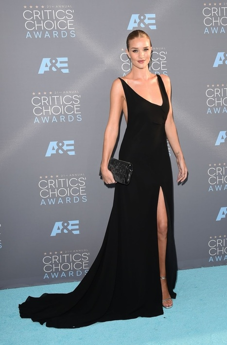 Jason Statham & Rosie Huntington at 2016 Critics Choice Awards | Showbiz | Scoop.it