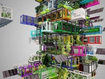 Repurposed shipping containers may be building blocks for modular vertical urban farms | Transición | Scoop.it