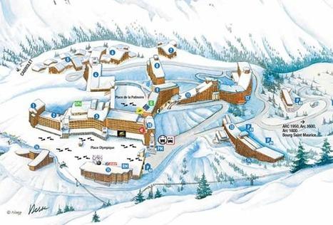 Station de ski Les Arcs - Arc 2000 | Voyage Court Séjours | Scoop.it