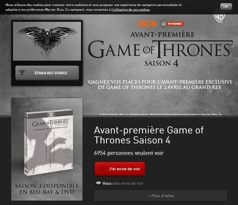 Epixod Le Blog: Back to the future | Avant-première Game of Thrones S4 | Scoop.it