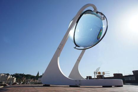 Rawlemon, la sphère solaire qui ridiculise les panneaux photovoltaïques | Solution Energie | Scoop.it