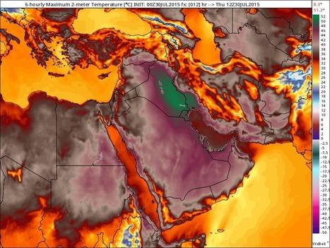 Iran city hits suffocating heat index of 154 degrees, near world record | Jason Samenow | WashPost.com | Développement durable et efficacité énergétique | Scoop.it