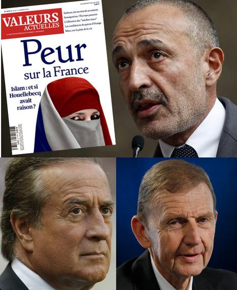 Iskandar Safa, Etienne Mougeotte et Charles Villeneuve s'offrent «Valeurs Actuelles» | DocPresseESJ | Scoop.it
