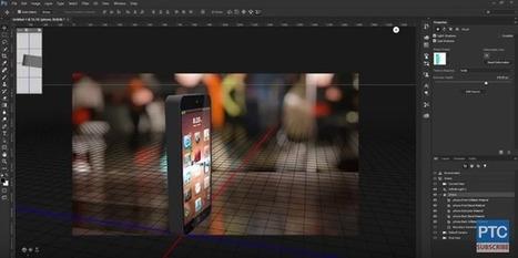 Tutorial:crea objetos en 3D con fotos en Ps | FujiX | Scoop.it