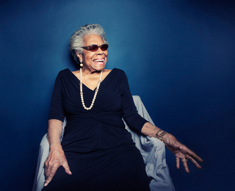 Maya Angelou In Memorium - Vogue   art   Scoop.it
