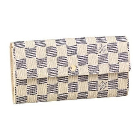 Louis Vuitton Outlet Sarah Wallet Damier Azur Canvas N61735 For Sale,70% Off | Louis Vuitton Handbags Outlet Online | Scoop.it
