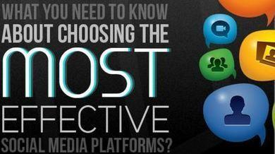 Quels réseaux sociaux choisir pour bâtir sa stratégie de ... | Référencement Web | Scoop.it