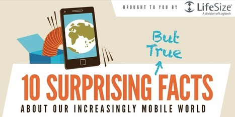 LifeSize Infographic: 10 Surprising Facts about our Mobile World - Technology at Work! | Technology at Work Blog | Scoop.it