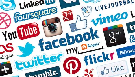 Intégrer les réseaux sociaux sur son site web   digital   Scoop.it