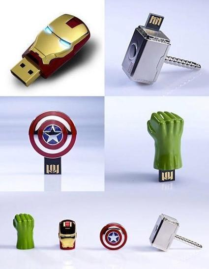 Marvel Avengers USB  Flash Drives   All Geeks   Scoop.it