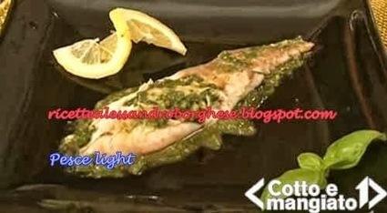 Pesce light ricetta da Cotto e Mangiato di Tessa Gelisio - Ricette di ... | Pescare e la Pesca Sportiva | Scoop.it
