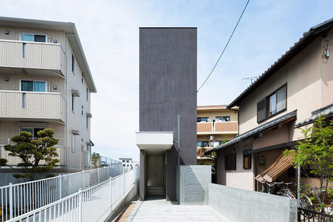 [Shiga,Japan] form/ kouichi kimura architects: slender promenade house | The Architecture of the City | Scoop.it