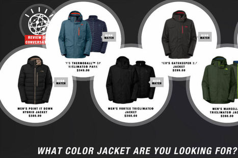Quand The North Face dope son site d'e-commerce à l'intelligence artificielle | Marketing Trends | Scoop.it