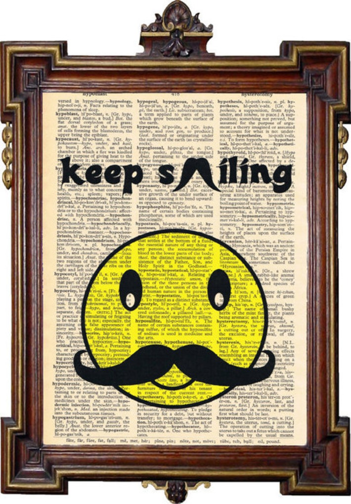 Upcycled Art Print par TreasuresByUs sur Etsy | Kitsch | Scoop.it