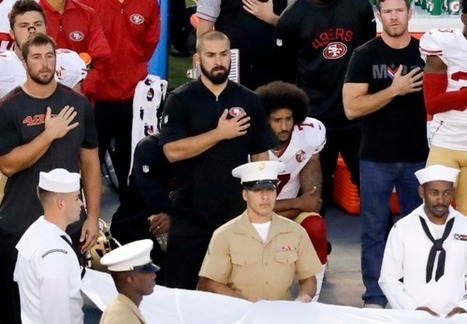 Colin Kaepernick Takes A Knee During Anthem, And Then Donates $1 Million To Help Communities In Need! (VIDEO) | T.V.S.T. | Celebrity Gossip | Scoop.it