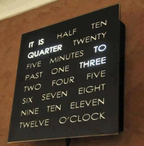 Twitter / Invention_Pics: Awesome clock http://t.co/6hpqbwKsiR | Raspberry Pi | Scoop.it