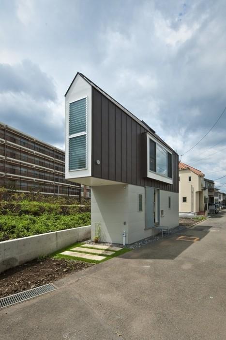 Une maison sur un terrain de...52 m². | Architecture pour tous | Scoop.it