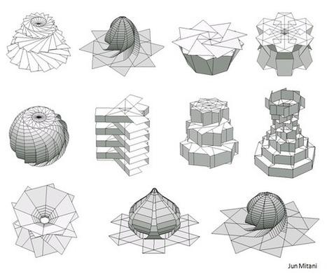 ORI-REVO: A Design Tool for 3D Origami of Revolution | Parametric Architecture and Design | Scoop.it