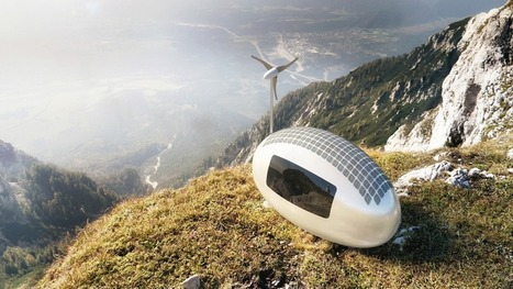 "Wind and solar-powered Ecocapsule is your off-grid home of the future | L'impresa ""mobile"" 