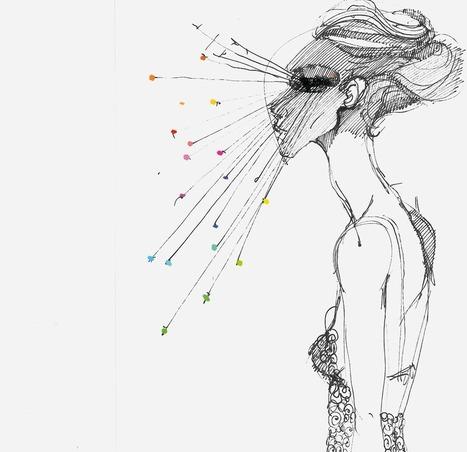 "Saatchi Online Artist: Luigi Ciuffreda; Colored Pencils, 2010, Drawing ""ERA."" | Art Collection | Scoop.it"
