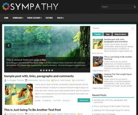 Sympathy Blogger Template | Blogger Templates | Scoop.it