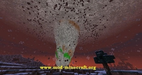 Weather and Tornadoes Mod 1.7.4/1.7.2/1.6.4 for Minecraft | minecraft | Scoop.it
