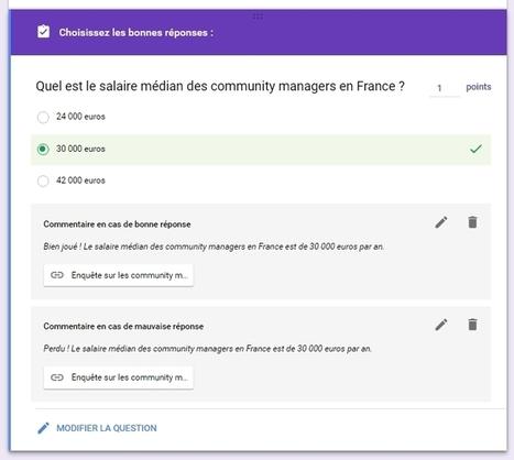 Créer un quiz avec Google Forms, c'est désormais possible ! - Blog du Modérateur | usages du numérique | Scoop.it