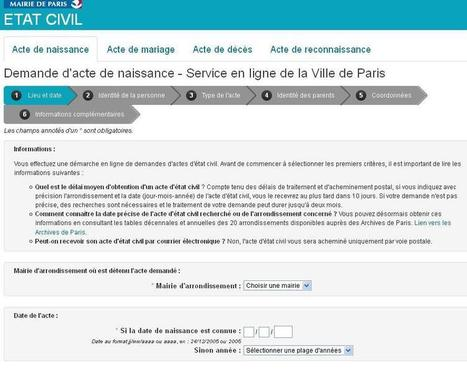 Demandes d'actes à Paris | CGMA Généalogie | Scoop.it