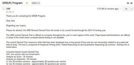 GRE News: Negative Marking on the GRE in 2014! - CrunchPrep GRE | GRE Preparation and Study Tips | Scoop.it