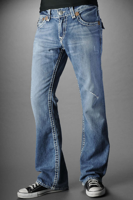 wholesale True Religion Jeans Men's Billy Super T Medium Drifter with Rips Cheap for you | Men's Bootcut Jeans_wholesaletruereligion.us | Scoop.it