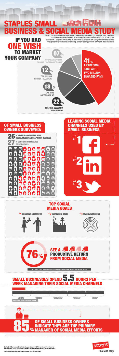 Small Business Survey Infographic from Staples | Business Industry Infographics | Scoop.it