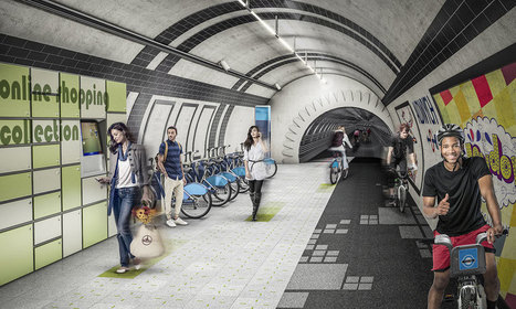 London's Abandoned Underground Lines May Soon Become Self Sustaining Cyclist Highways | Sustainability Science | Scoop.it