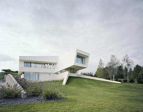 Futuristic Single Family Residence: Villa Freundorf by Project A01 Architects | TAD - TECHNOLOGY ARCHITECTURE & DESIGN | Scoop.it