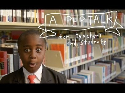Kid President's Pep Talk to Teachers and Students! | Mathematics | Scoop.it