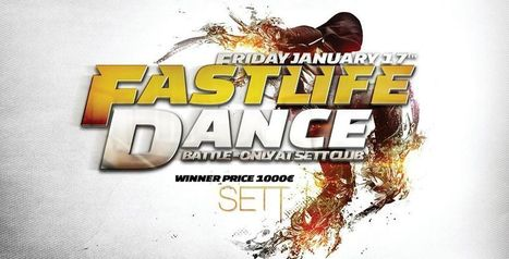 """Fri 17.01.2014 • FASTLIFE """"BATTLE"""" • SETT CLUB (Tour & Taxis) • DJ DNK, KAY-ONE, SYRUS, BEXS + MC BEBA 