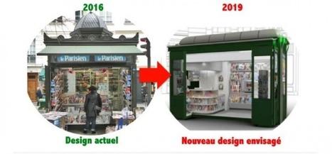 Ces nouveaux kiosques à journaux qui divisent Paris | DocPresseESJ | Scoop.it