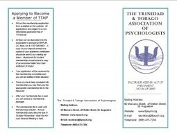 The NGO Development Foundation » The Trinidad & Tobago Association of Psychologists | Human Rights | Scoop.it