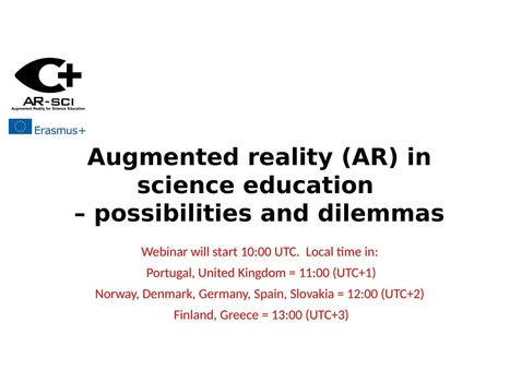 Augmented reality (AR) in science education - possibilities and dilemmas   Augmented Reality & VR Tools and News   Scoop.it