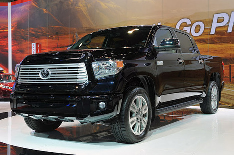 New 2014 Toyota Tundra More powerful | MyCarzilla | Super cars News | Scoop.it