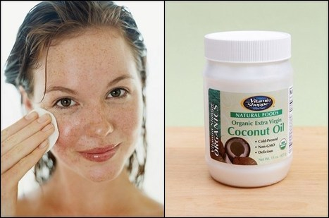 10 Reasons To Start Putting Coconut Oil On Your Face | Raw Edible Organic Skin Care | Scoop.it