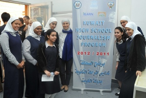 Kuwaiti Students Urged to Cultivate Electronic Media Skills for Journalism | iEARN in Action | Scoop.it