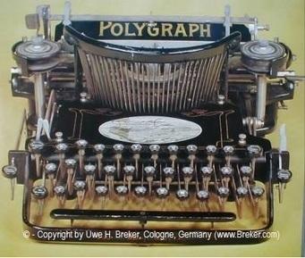 Une machine à écrire est une machine mécanographique permettant d'écrire des documents avec des caractères imprimés.   Edition en ligne & Diffusion   Scoop.it