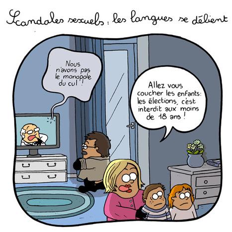 Scandales sexuels : les langues se délient   Baie d'humour   Scoop.it