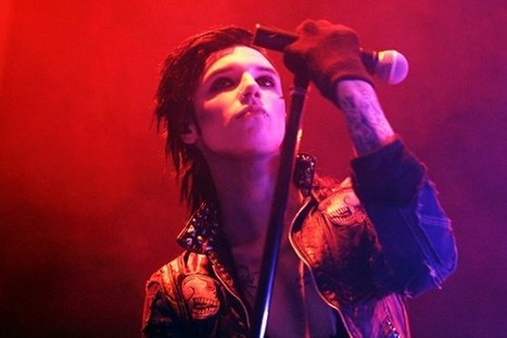 Black Veil Brides' Andy Biersack Ready for 2013 Warped Tour Return as Main Stage Act | Andrew Dennis Biersack | Scoop.it