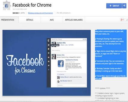 Meilleures extensions Chrome pour Facebook à installer | Astuces sur Facebbook | Scoop.it