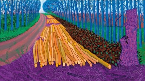 David Hockney's iPad Art On Display At Royal Academy | Everything iPads | Scoop.it