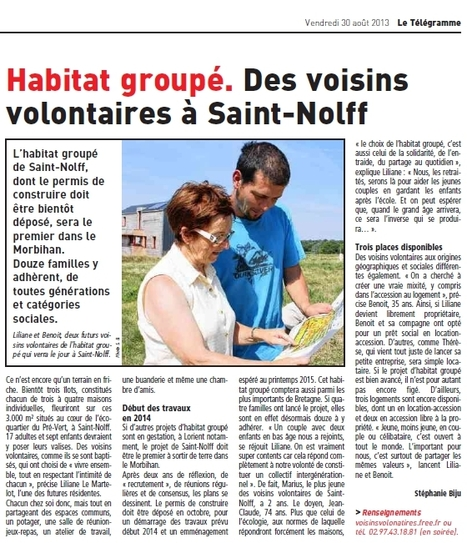 Habitat groupé en Bretagne | Habitat Groupé | Scoop.it