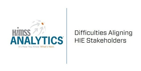 HIMSS Analytics Report: Difficulties Aligning HIE Stakeholders | #HITsm | Scoop.it